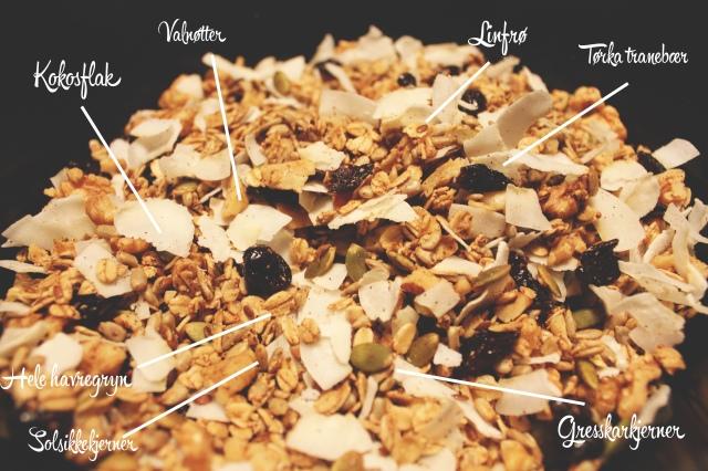 HJemmelaget musli / granola